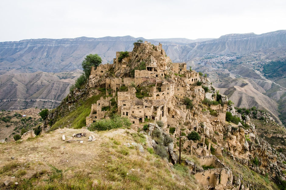 Город-призрак Дагестан